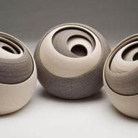 Abstract Ceramic Sculptures By Matthew Chambers