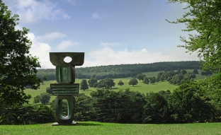 Pictured: The Family of Man: Figure 1, Ancestor 1, by Barbara Hepworth, 1970