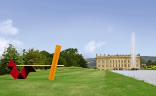 Pictured: Sunshine, by Anthony Caro, 1964