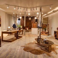Across a warren of different rooms over two floors, much of what is available at is specific to Clerkenwell London – from an on-site perfumery to a personal tailoring service