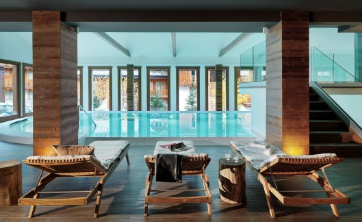 The best views of the Italian Alps are from the terraces or balconies attached to each room, while weary skiers can find solace in the wine cellar or in the Nira Spa.