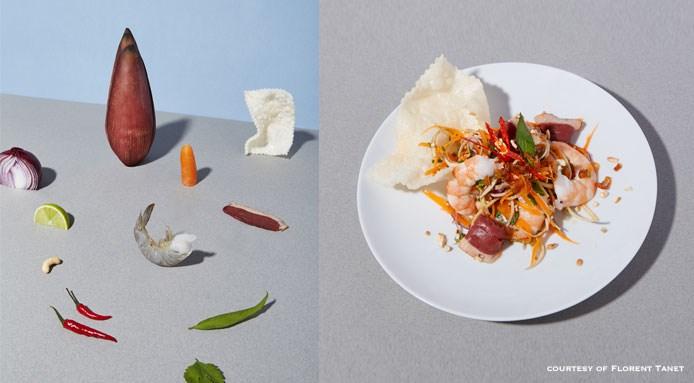 Bittersweet salad by chef Adeline Gobin | An Di An Di restaurant, Parigi