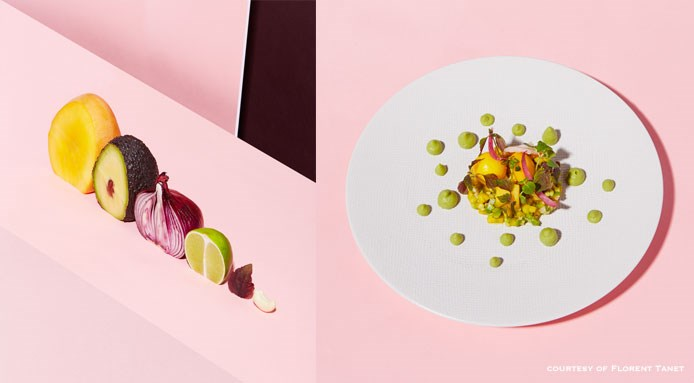 4 Continents salad by Alessandra e Olivier Montagne | Tempero restaurant, Parigi