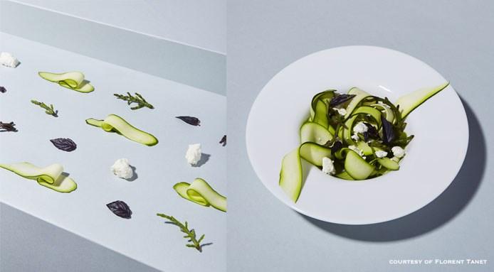 Ode to the iodine salad by chef Elsa Marie   Pères populaires, Parigi