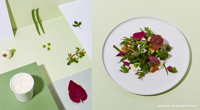 Tchouic-tchouic salad by Erica Archambault   Clamato bistrot, Parigi