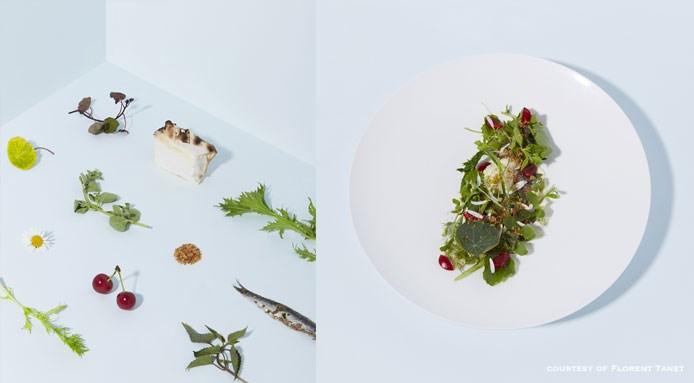 Fine herb salad by Simone Tondo