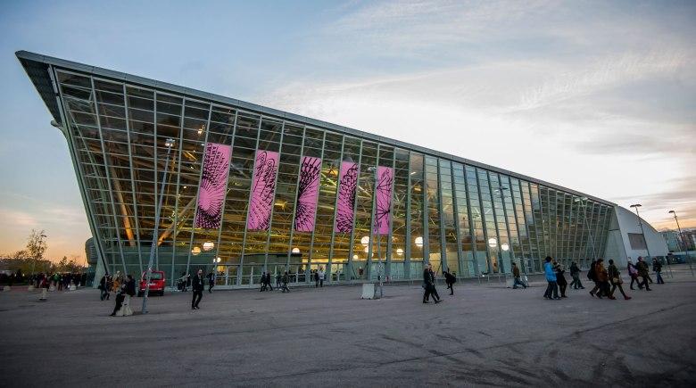 Artissima 'Oval Theatre' in Turin, Italy