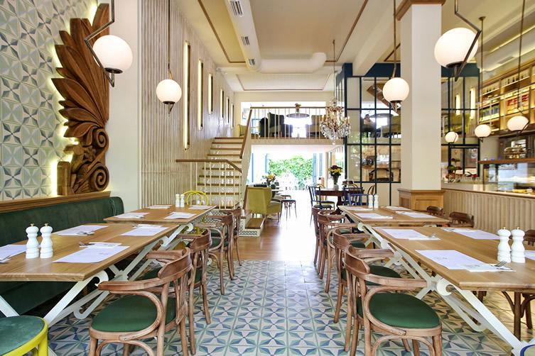 La Maison Du Grec Café In Athens, Greece (photo: courtesy)