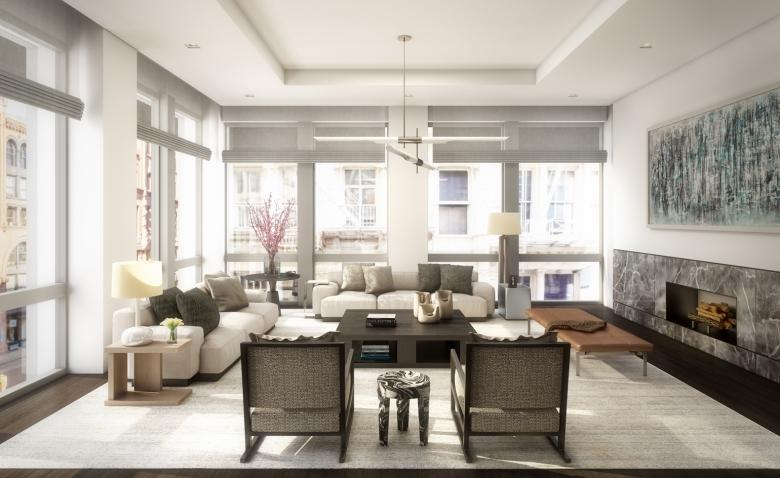 52 Wooster: Living Room