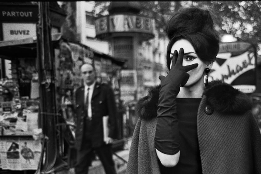 Nana, Place Blanche, Paris 1961. © Christer Strömholm/ Strömholm Estate, 2014