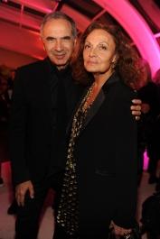 Carlo Capasa;Diane Von Furstenberg