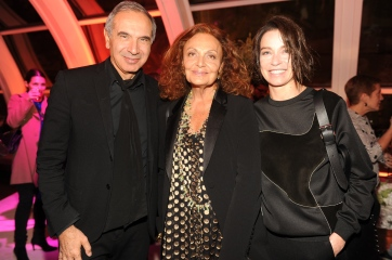 Carlo Capasa;Diane Von Furstenberg;Stefania Rocca