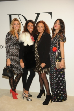 Federica Fontana;Viviana Volpicella;Diane Von Furstenberg;Valentina Scambia