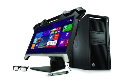 HP Zvr 23.6-inch Virtual Reality Display