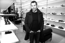 Jalil Lespert at the Dior Homme store opening in Paris October 4th