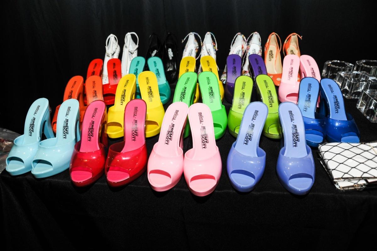Melissa + Jeremy Scott 'Inflatable' Shoe Collection.