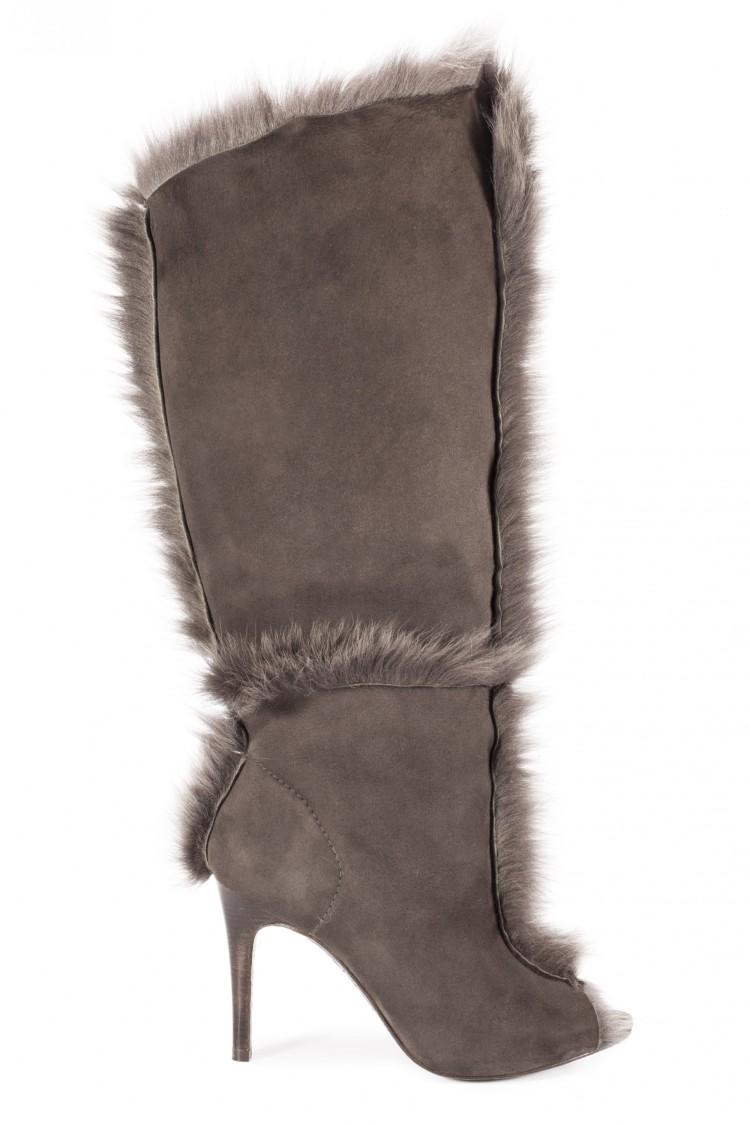 Pedro García AW15-16: The Sully Fox Churra & Lambskin boot