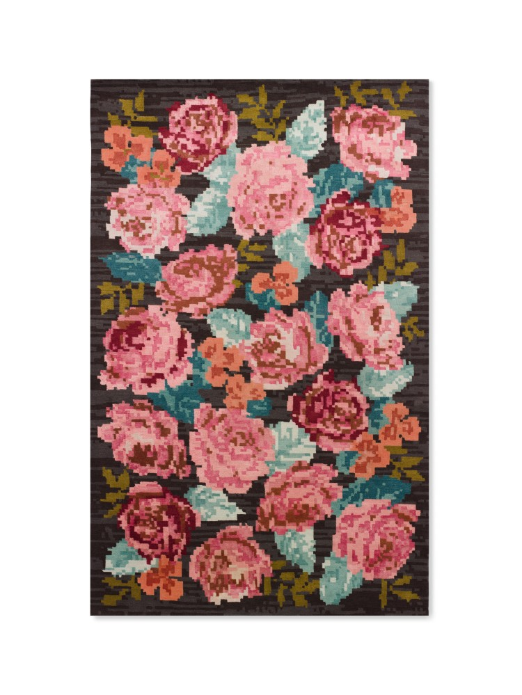 Kate Spade Home Collection: Needlepoint rug. Photo: Courtesy of Kate Spade