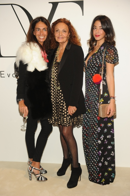 Viviana Volpicella;Diane Von Furstenberg;Valentina Scambia