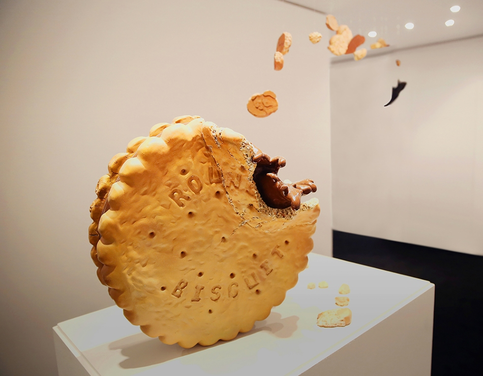 Yassine Khaled, 'Prince Biscuit', 2013, Resin sculpture, 190 x 200 x 250 cm, Courtesy of GVCC