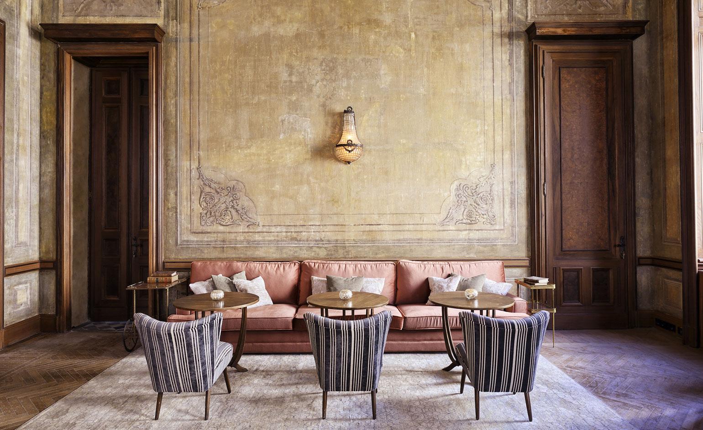 SoHo House Istanbul dining area
