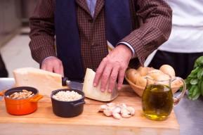 Secret ingredients of the Italian Pesto