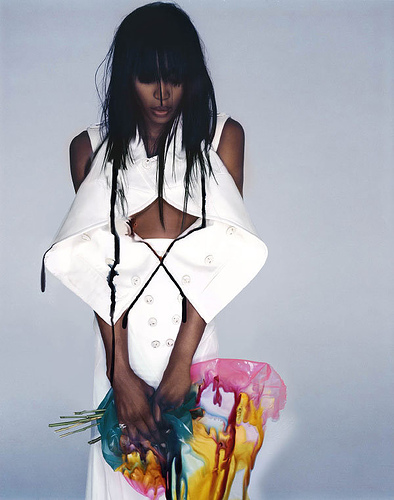 Naomi Campbell by Knick Knight for Showstudios