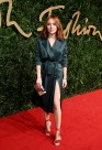 Angela Scanlon attends the British Fashion Awards 2015 at London Coliseum on November 23, 2015 in London, England.