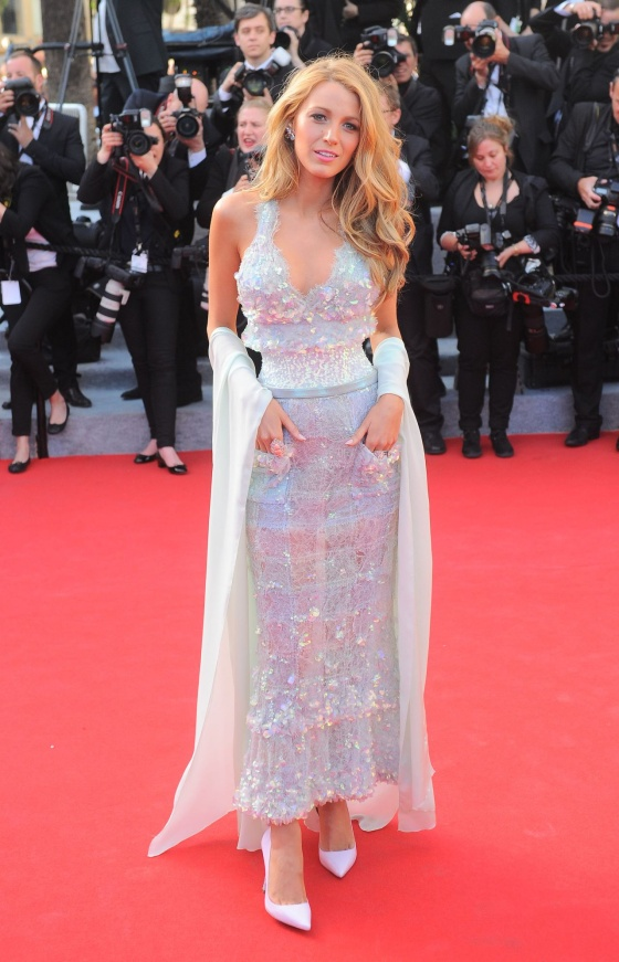 Blake Lively in Chanel at the 2014 Cannes Film Festival