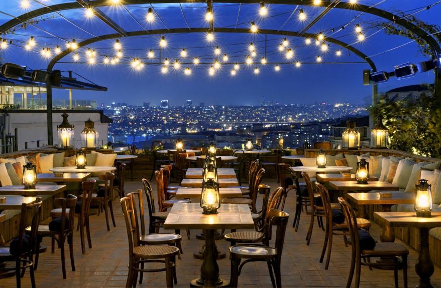 SoHo House Istanbul rooftop bar