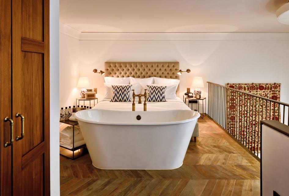 SoHo House Istanbul suite