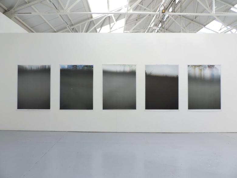 'Like swimming', digital photography panels, Alexander Duncan, 2015