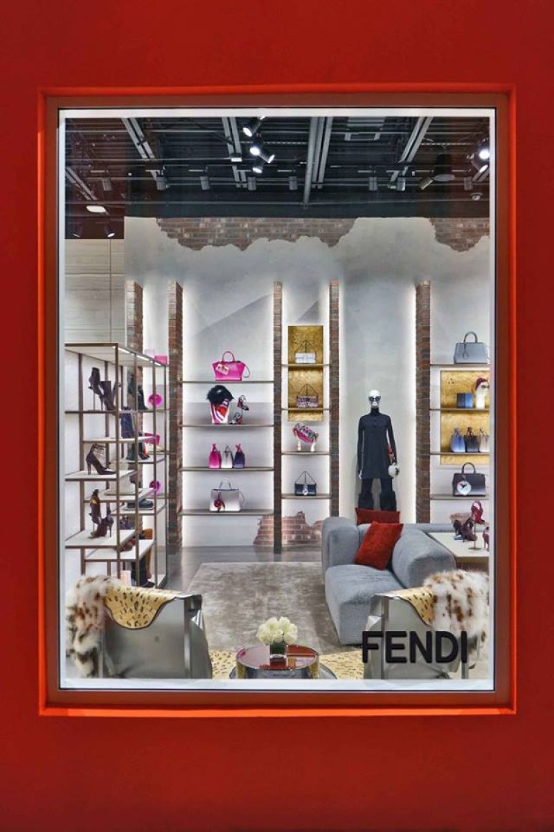 Fendi new concept store in Miami Beach