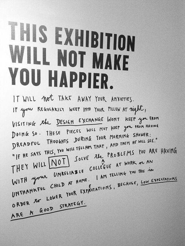 Stefan Sagmeister's 'The Happy Show' on exhibition in Vienna