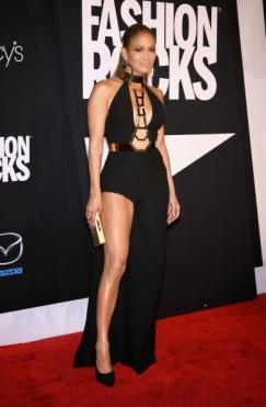Jennifer Lopez in Los Angeles with Thale Blanc clutch