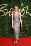 Karlie Kloss attends the British Fashion Awards 2015 at London Coliseum on November 23, 2015 in London, England.