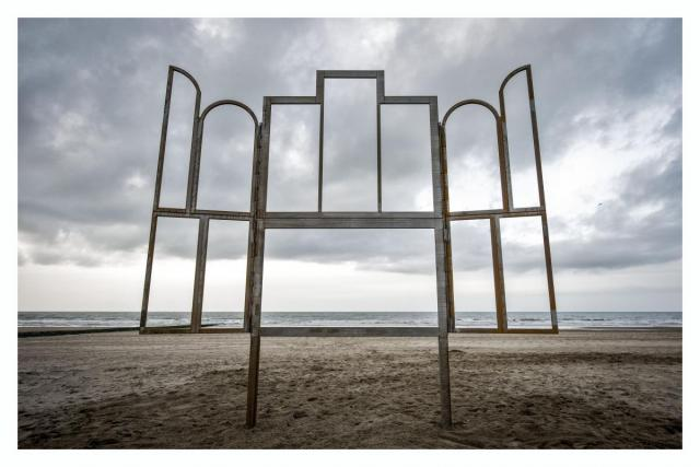Kris Martin, Altar, 2014. Kris Martin is an artist for Art Basel Miami Beach, Public Works exhibition