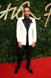 Lewis Hamilton attends the British Fashion Awards 2015 at London Coliseum on November 23, 2015 in London, England.