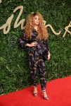 Lion Babe attends the British Fashion Awards 2015 at London Coliseum on November 23, 2015 in London, England.