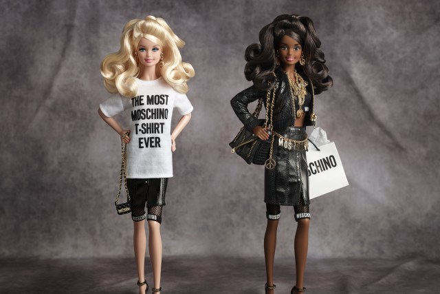 Matell announces the Barbie by Moschino. (November 2015) Photographer Paul Jordan Stylist Mary Jordan