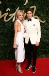 Pixie Lot attends the British Fashion Awards 2015 at London Coliseum on November 23, 2015 in London, England.