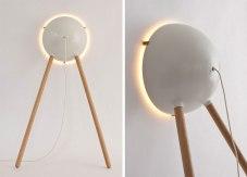 'Cirkel' floor lamp