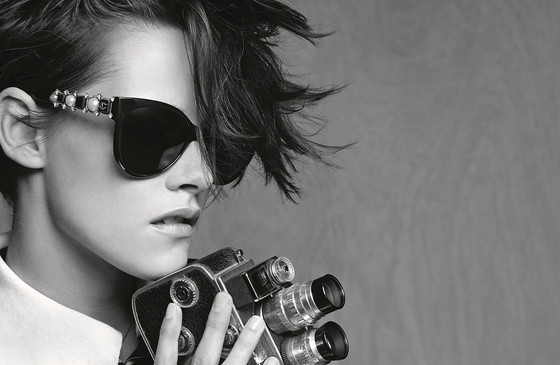 Kristen Stewart in Chanel eyeweare