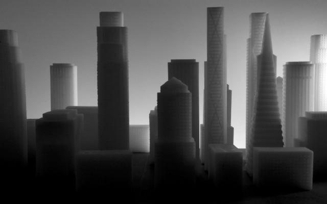 Shrinking City, 2014 | Digitale Fotografien, Pigmentprint auf Büttenpapier