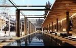 the chedi andermatt_swimming pool_rendering