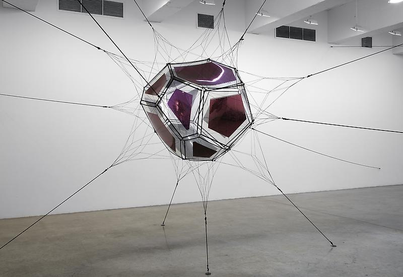 Scultpure by Tomás Saraceno, Courtesy the artist and Tanya Bonakdar Gallery, New York. Photography by Jean Vong