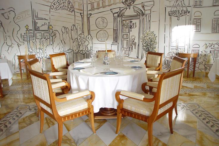 """Versace """"Vanintas"""" Table"""