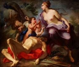 Antonio Balestra, Juno and Argus. Verona, 1666 - Verona, 1740. Oil on canvas, 161,8 by 199,8 cm - 63,7 by 78,7 in