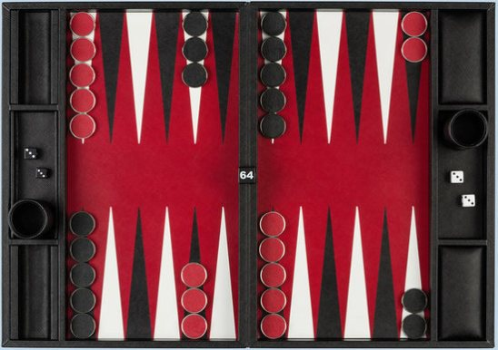 Checkers board game by Prada