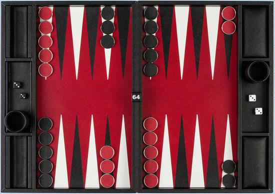 Checkers board game by Prada